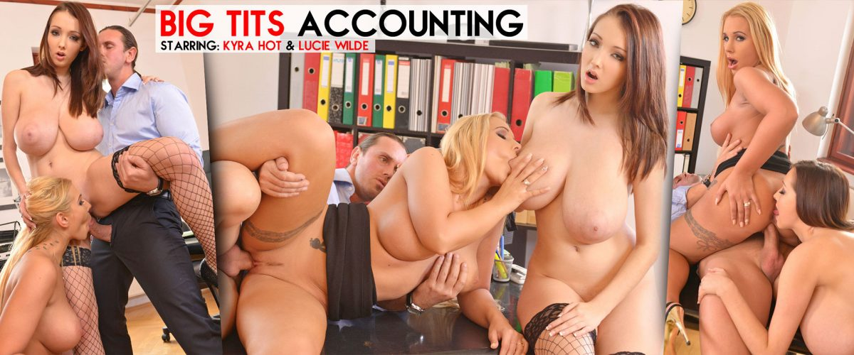 Lucie Wilde & Kyra Hot - Stacked Stress Busters!